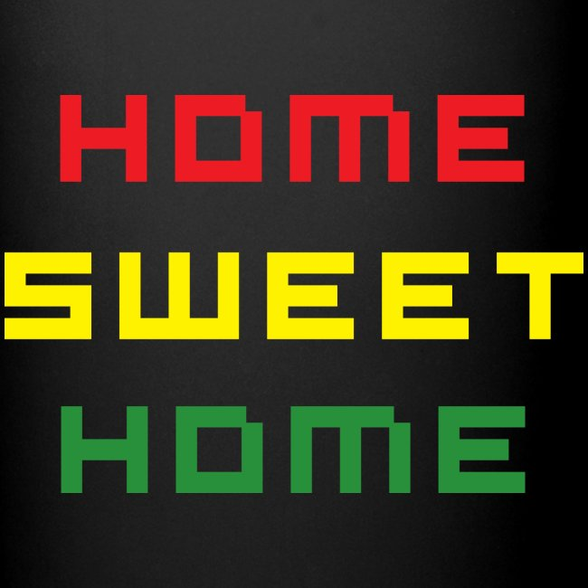 Mug Rasta Home Sweet Home