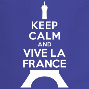 Keep calm and vive la France Tabliers - Tablier de cuisine