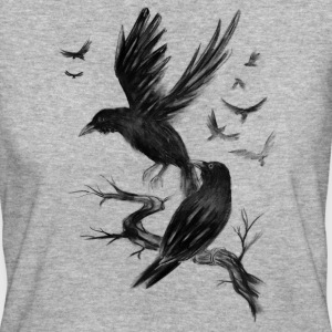 Fly Raven T-Shirts - Frauen Bio-T-Shirt