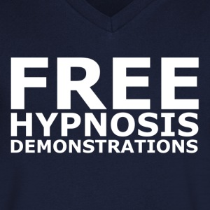 Free Hypnosis V Neck - Men's V-Neck T-Shirt