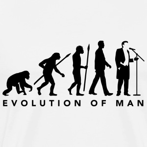 evolution_of_man_opera_singer_112014_b_1 T-Shirts - Männer Premium T-Shirt
