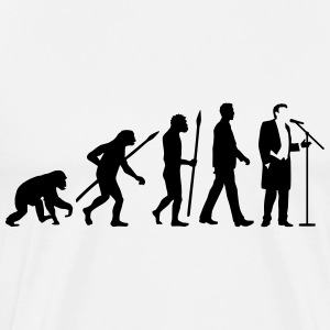 evolution_of_man_opera_singer_112014_a_1 T-Shirts - Männer Premium T-Shirt