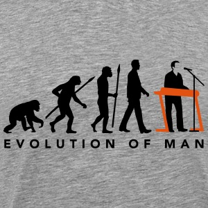 evolution_of_man_keyborder_112014_b_2c T-Shirts - Männer Premium T-Shirt