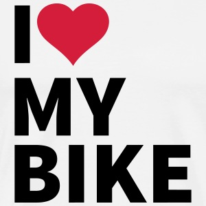 i love my bike T-Shirts - Men's Premium T-Shirt