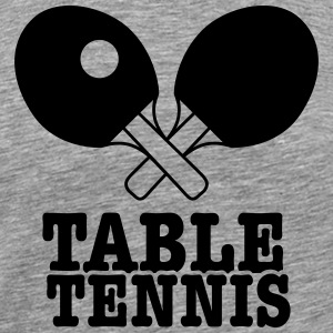 tennis de table Tee shirts - T-shirt Premium Homme