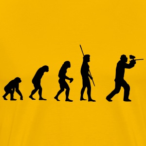 Evolution Paintball T-shirts - Herre premium T-shirt