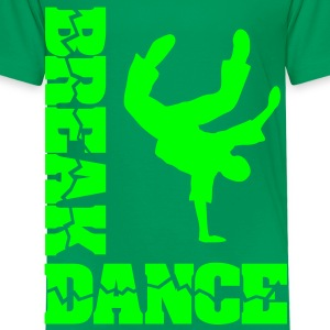 Breakdance Battle Breakdancer Moves Freeze Logo  - Kinder Premium T-Shirt