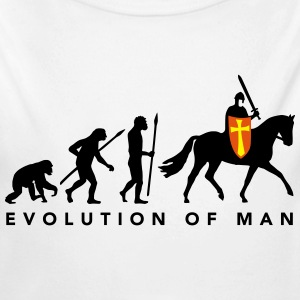evolution_of_man_knight_112014_a_3c Pullover & Hoodies - Baby Bio-Langarm-Body