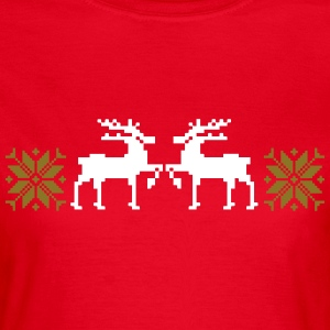 weihnachten winter shirt - Frauen T-Shirt