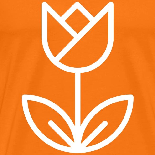 Orange Men's Tee