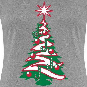 Christmas tree Christmas balls sugar factory T-Shirts - Women's Premium T-Shirt