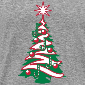 Christmas tree Christmas balls sugar factory T-Shirts - Men's Premium T-Shirt