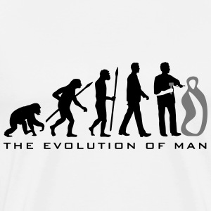 evolution_of_man_sculptor_112014_b_2c T-Shirts - Männer Premium T-Shirt