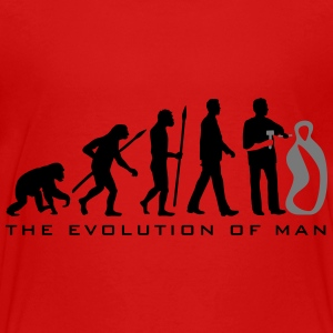 evolution_of_man_sculptor_112014_b_2c T-Shirts - Teenager Premium T-Shirt