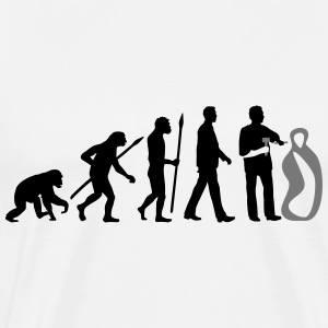 evolution_of_man_sculptor_112014_a_2c T-Shirts - Männer Premium T-Shirt