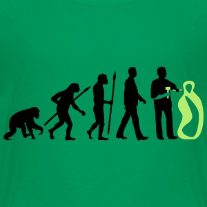 evolution_of_man_sculptor_112014_a_2c T-Shirts - Teenager Premium T-Shirt