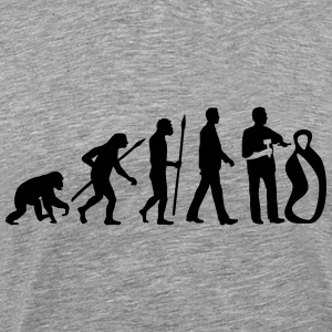 evolution_of_man_sculptor_112014_a_1c T-Shirts - Männer Premium T-Shirt