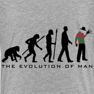 evolution_of_man_horror_nightmare_freddy T-Shirts - Teenager Premium T-Shirt