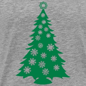 flakes Christmas T-Shirts - Men's Premium T-Shirt