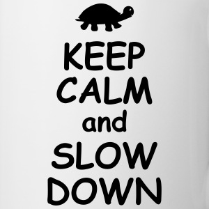 Keep calm and slow down   jogging fitness Maraton  Muggar & tillbehör - Mugg