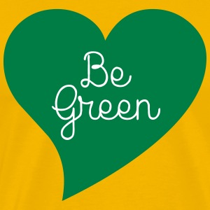 Be Green T-shirts - Mannen Premium T-shirt