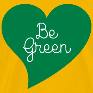 Be Green T-shirts - Premium-T-shirt herr