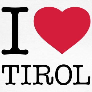 I LOVE TIROL - Frauen T-Shirt