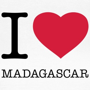 I LOVE MADAGASCAR T-shirts - Vrouwen T-shirt