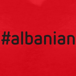 #albanian - Women's V-Neck T-Shirt