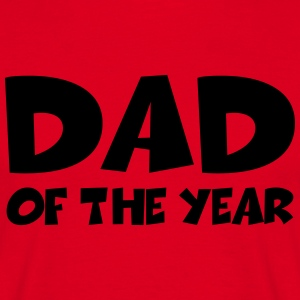 Dad of the year T-shirts - Mannen T-shirt