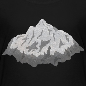 mountains berg T-shirts - Premium-T-shirt barn