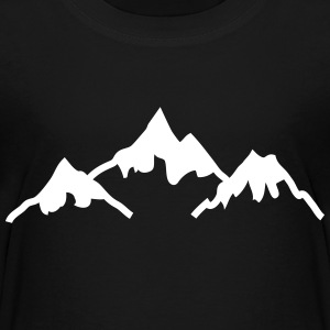 mountains bergen Shirts - Kinderen Premium T-shirt