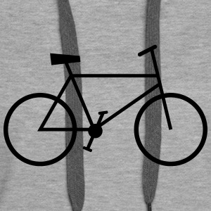 bike Sweat-shirts - Sweat-shirt à capuche Premium pour femmes