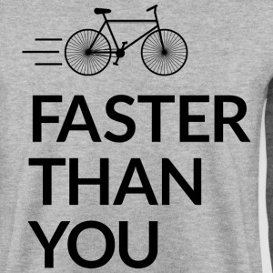 Faster than you hurtigere end du Sweatshirts - Herre sweater