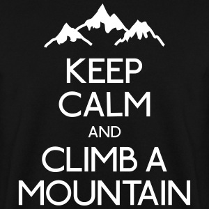keep calm mountain Hoodies & Sweatshirts - Men's Sweatshirt