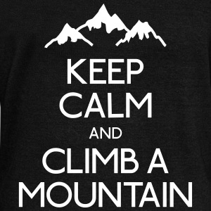 keep calm mountain garder la montagne calme Sweat-shirts - Pull Femme col bateau de Bella