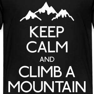 keep calm mountain holde ro fjell Skjorter - Premium T-skjorte for barn