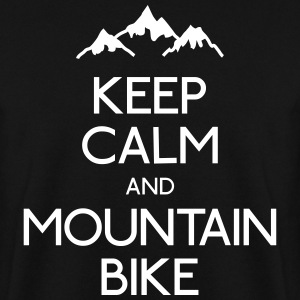 keep calm mountain bike mantener calma btt Sudaderas - Sudadera hombre