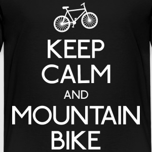 keep calm mountain bike Shirts - Kids' Premium T-Shirt