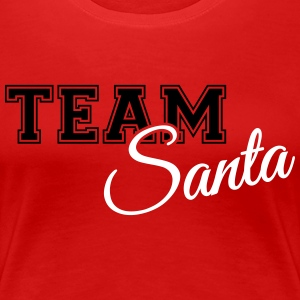Team Santa T-Shirts - Frauen Premium T-Shirt