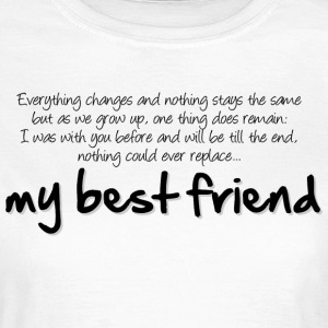 My best friend T-Shirts - Frauen T-Shirt