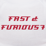 Design ~ nounours et son T-shirt FAST & FURIOUS 7