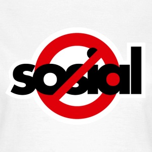 Asocial - Women's T-Shirt