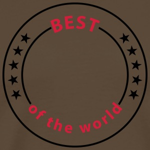 Best of the world, 5 Sterne T-Shirts - Männer Premium T-Shirt
