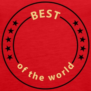 Best of the world, 5 Sterne Tops - Frauen Premium Tank Top
