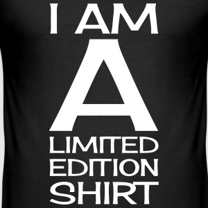 I AM A LIMITED EDITION T-shirts - Herre Slim Fit T-Shirt