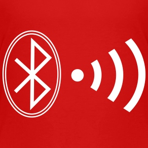 bluetooth_wifi_bw7 T-Shirts - Kinder Premium T-Shirt