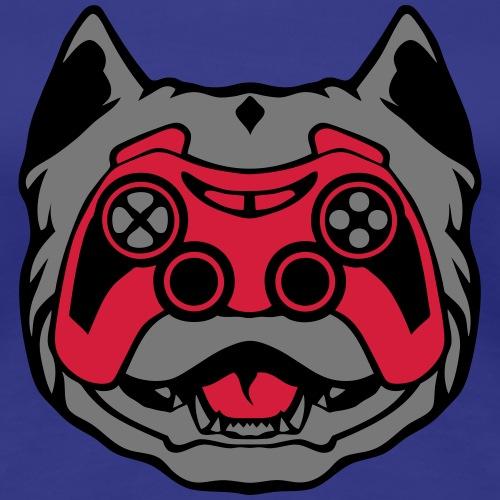 pitbull manette jeux oeil joystick geek