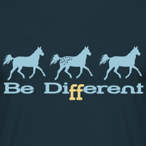 Be different..Appaloosa T-Shirts - Männer T-Shirt
