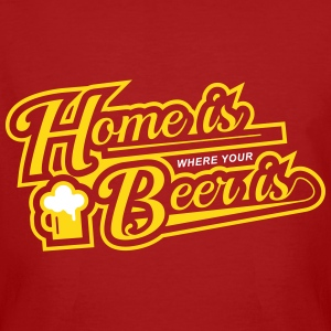 home is where your beer is T-Shirts - Männer Bio-T-Shirt